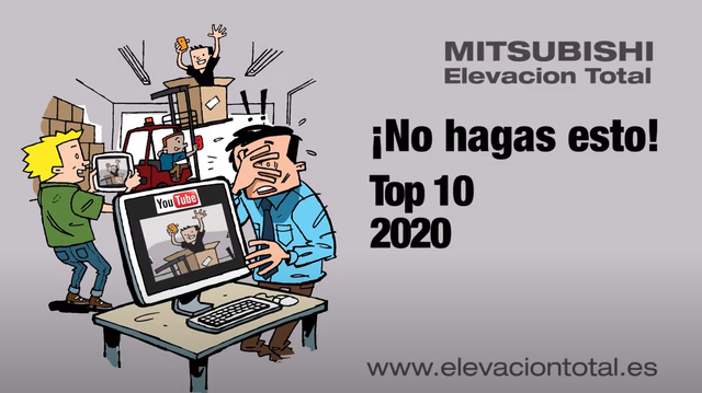 ¡No lo hagas! Top 10 de vídeos de accidentes de carretillas de Mitsubishi Elevación Total 2020